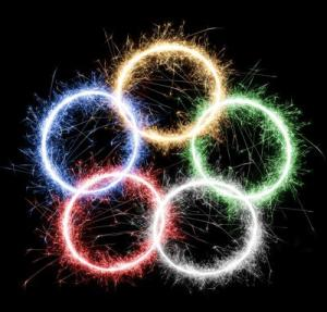 olympic fireworks ring